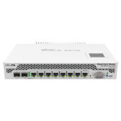 MikroTik CCR1009-7G-1C-1S+PC Router Front