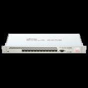 MikroTik Cloud Core Router CCR1016-12G Front