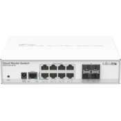 MikroTik Switch CRS112-8G-4S-IN Front