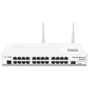 MikroTik Cloud Router Switch CRS125-24G Front