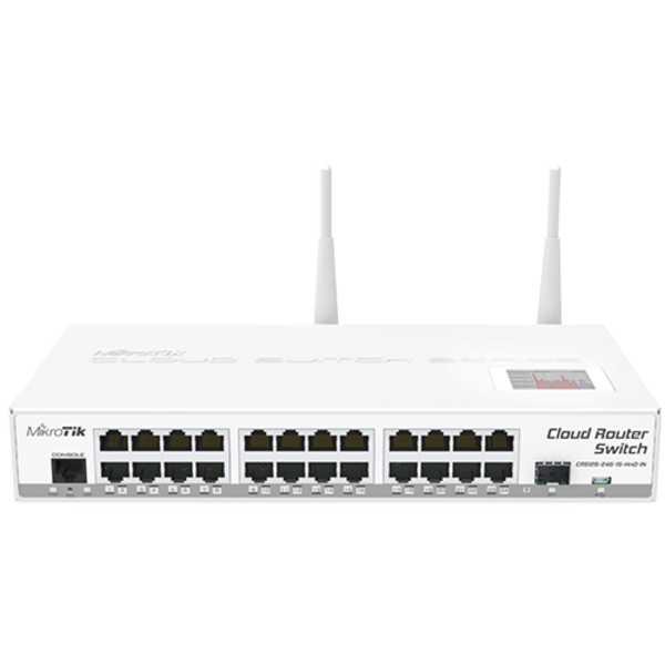 MikroTik Cloud Router Switch CRS125-24G-1S-2HnD-IN-OB - Open Box