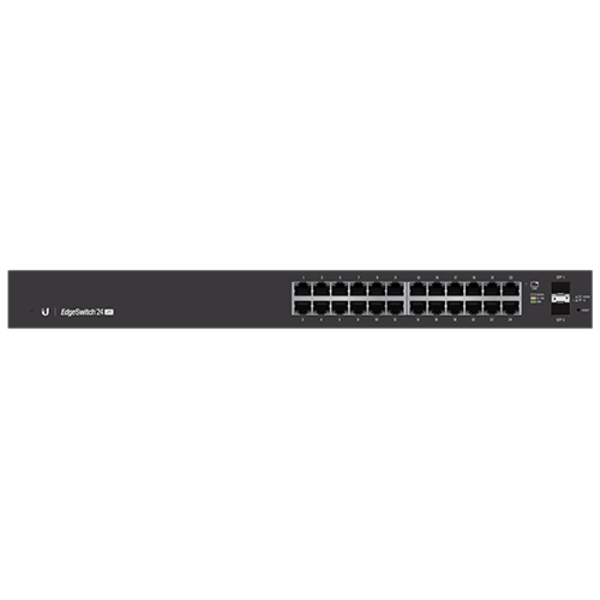 Ubiquiti EdgeSwitch 24 Lite Managed Gigabit Switch w SFP Front