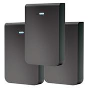 Ubiquiti Black UniFi In-Wall HD Skin, 3-Pack