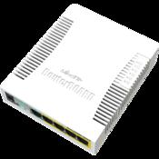 MikroTik 5x Gigabit POE-OUT Switch Top Angle