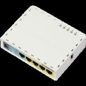 MikroTik hEX PoE lite Ethernet Router Front