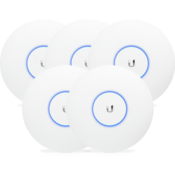 Ubiquiti UniFi Access Point, AC Pro, 5-Pack - US