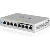Ubiquiti UniFi Switch, 8-Port, 60W, with 4-ports PoE Top Angle