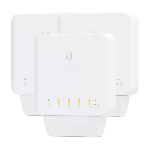Ubiquiti UniFi® Switch Flex, 3 Pack