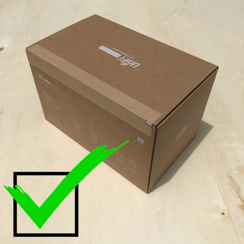 Acceptable Return New Unopened Box