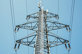 Smart Grid wireless device on tower