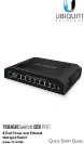 Ubiquiti TOUGHSwitch PoE 8-Port Quick Start Guide