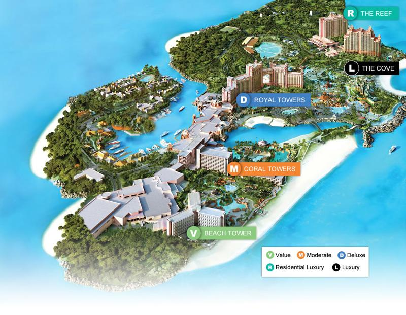 Accommodations for the 2014 wireless without limits for Terrace view atlantis royal towers