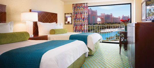 Accommodations for the 2014 wireless without limits for Terrace view room atlantis